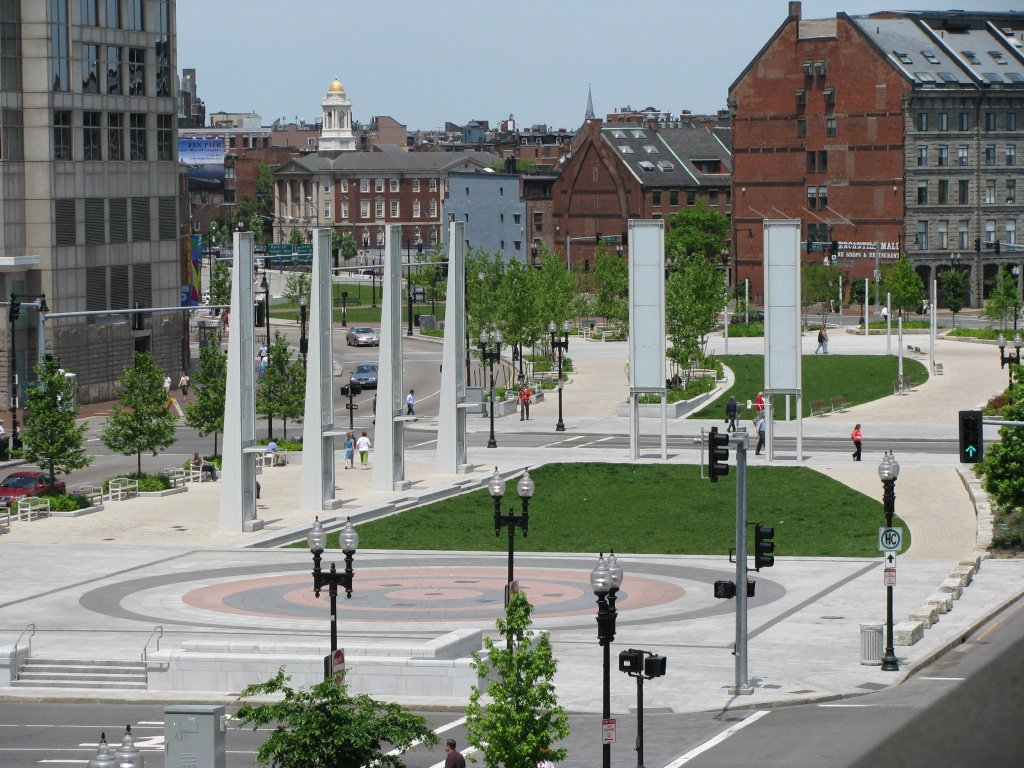 Rose Kennedy Greenway. One of the many ways Mayor Menino transformed our city into a place to be proud of