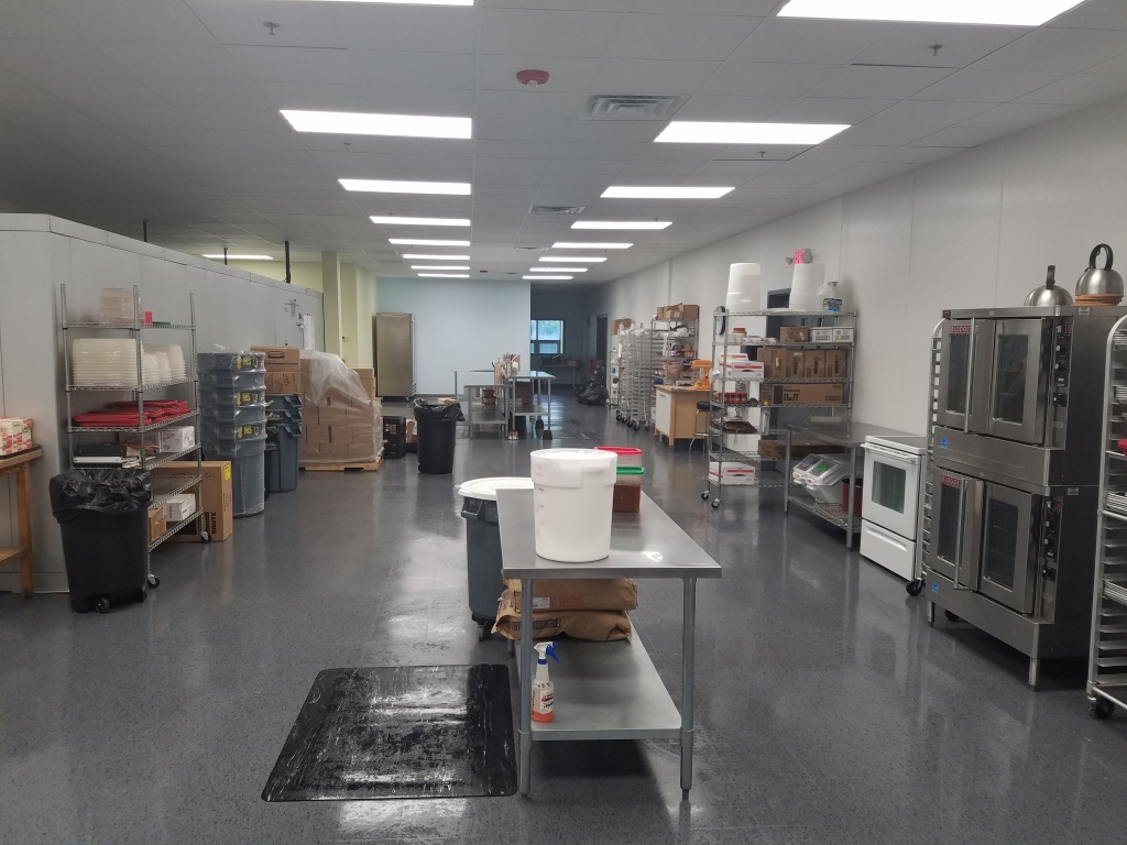 Going from a 1,300 square foot kitchen to a 21,000 square foot facility was definitely a bit intimidating